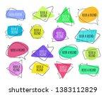 refer a friend   set of... | Shutterstock .eps vector #1383112829