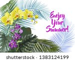 templates for vacation... | Shutterstock .eps vector #1383124199