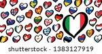 song festival euro songfestival ... | Shutterstock .eps vector #1383127919