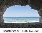View On Turquoise Sea Through ...
