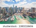 Dubai Marina Skyline Landscape...