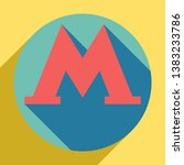 metro or underground or subway...   Shutterstock .eps vector #1383233786