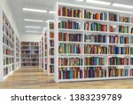 Library. Background From White...