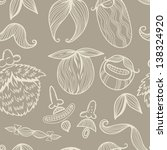 "vector seamless pattern ""funny... 