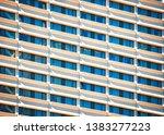 modern hotel building... | Shutterstock . vector #1383277223