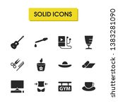 lifestyle icons set with...
