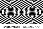 seamless pattern with hypnotic...   Shutterstock .eps vector #1383282770