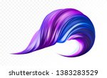 3d purple realistic brush... | Shutterstock .eps vector #1383283529