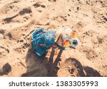 chihuahua wearing sunglasses...   Shutterstock . vector #1383305993