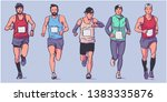 isolated vector illustration of ... | Shutterstock .eps vector #1383335876