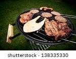 grill | Shutterstock . vector #138335330