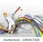 abstract colorful pattern with... | Shutterstock .eps vector #1383417320