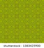 simple green color repetitive... | Shutterstock .eps vector #1383425900