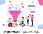 e business buyer  market... | Shutterstock .eps vector #1383440933