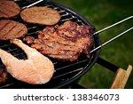 grill | Shutterstock . vector #138346073