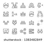 set of business people icons ... | Shutterstock .eps vector #1383482849