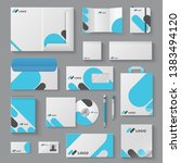 corporate brand identity.... | Shutterstock .eps vector #1383494120
