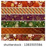 autumn and wunter japanese wide ...   Shutterstock .eps vector #1383505586