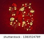 creative inscription love from...   Shutterstock .eps vector #1383524789