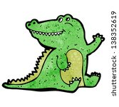 cartoon crocodile | Shutterstock . vector #138352619