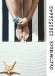 woman enjoying her summer...   Shutterstock . vector #1383526643
