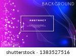 dynamic abstract liquid flow... | Shutterstock .eps vector #1383527516