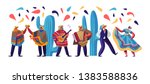 cinco de mayo festival with... | Shutterstock .eps vector #1383588836