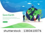 save earth vector illustration...
