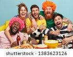 shot of friendly companions... | Shutterstock . vector #1383623126