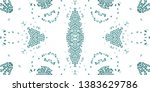 colorful abstract mosaic... | Shutterstock . vector #1383629786