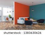 interior of stylish living room ... | Shutterstock . vector #1383630626