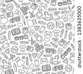 Seamless Pattern With Toys...
