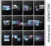 minimal brochure templates with ... | Shutterstock .eps vector #1383637289