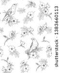 seamless pattern  background... | Shutterstock .eps vector #1383660113
