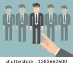 picking the best candidate for...   Shutterstock .eps vector #1383662600