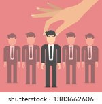 choosing the best candidate for ...   Shutterstock .eps vector #1383662606