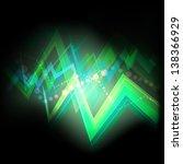neon abstract vector background ...   Shutterstock .eps vector #138366929