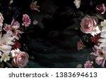 Vintage Floral Poster....