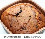 choccolate brown muffin dessert ... | Shutterstock . vector #1383724400