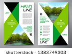 business brochure. flyer design.... | Shutterstock .eps vector #1383749303
