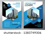 business brochure. flyer design.... | Shutterstock .eps vector #1383749306