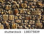 background of a wall of... | Shutterstock . vector #138375839