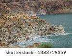 dead sea scenery in jordan | Shutterstock . vector #1383759359