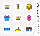 vector illustration of 9... | Shutterstock .eps vector #1383762740