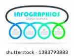 infographic design template... | Shutterstock .eps vector #1383793883