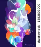 concept in flat style with...   Shutterstock .eps vector #1383803000