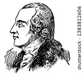 benedict arnold  1741 1801  he...   Shutterstock .eps vector #1383812606