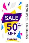 vector modern template... | Shutterstock .eps vector #1383860756