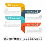 infographic design template... | Shutterstock .eps vector #1383872876
