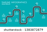 infographic design template... | Shutterstock .eps vector #1383872879